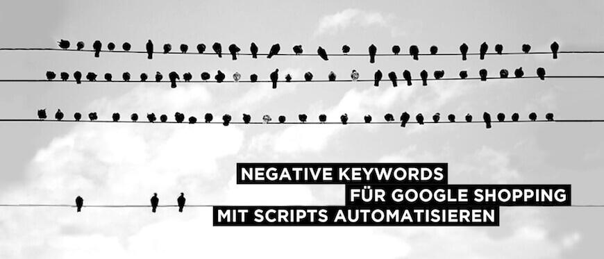 Negative Keyword Sync