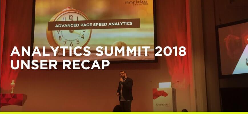 norisk Analytics Summit 2018