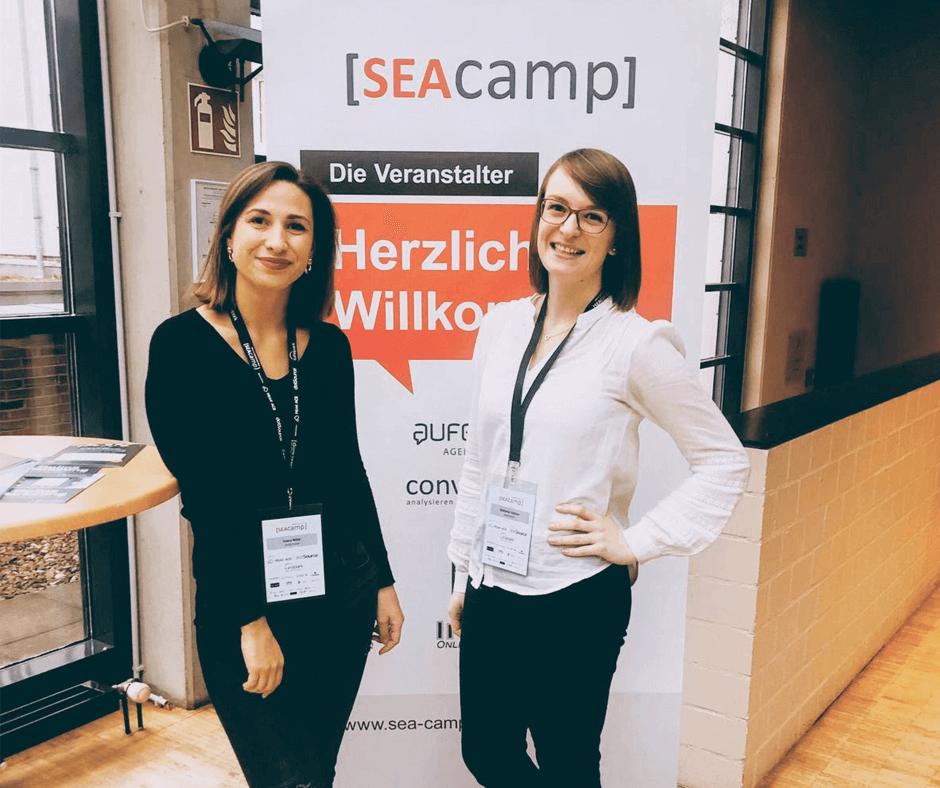 SEACamp 2019 Ivana Nikic Steffanie Häfner